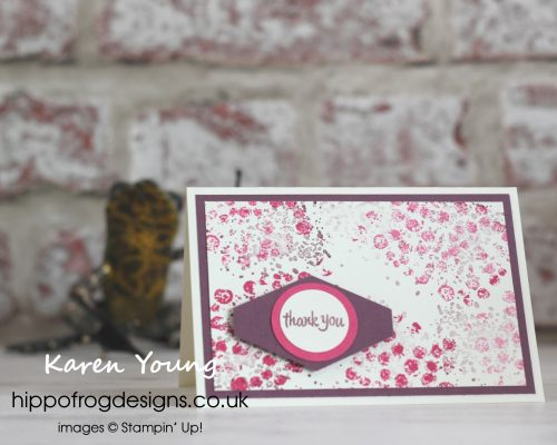 Gallery Grunge Thank You Cards. Designed by Karen at HIPPOFROG Designs