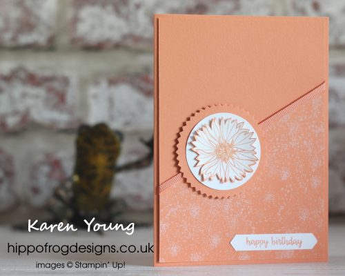 Touches of Texture in Monochrome. Card & Cuppa project designed by Karen Young at HIPPOFROG Designs