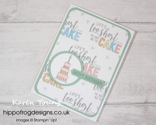 Amazing Life from Stampin' Up! Project designed by Karen at HIPPOFROG Designs