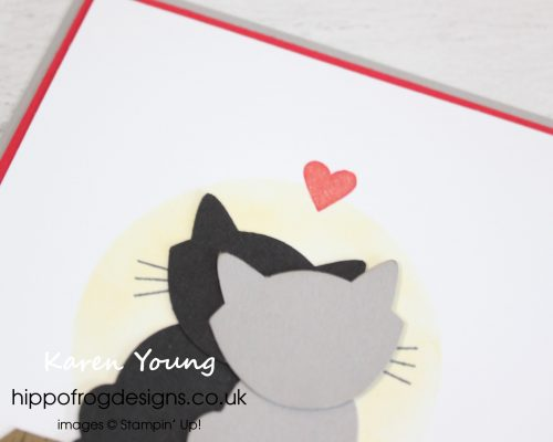 Love Cats. Project designed by Karen at HIPPOFROG Designs