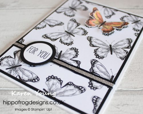 SAB Botanical Butterfly DSP. Project designed by Karen at HIPPOFROG Designs