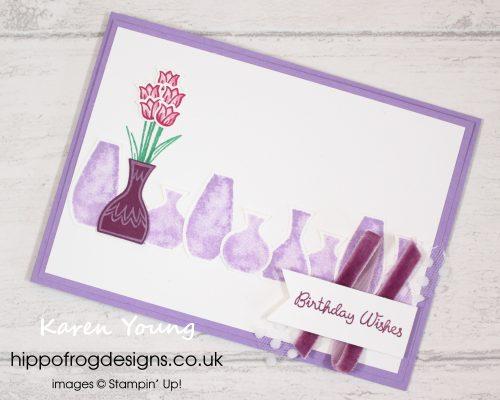 Variety of Vases. Project designed by Karen at HIPPOFROG Designs