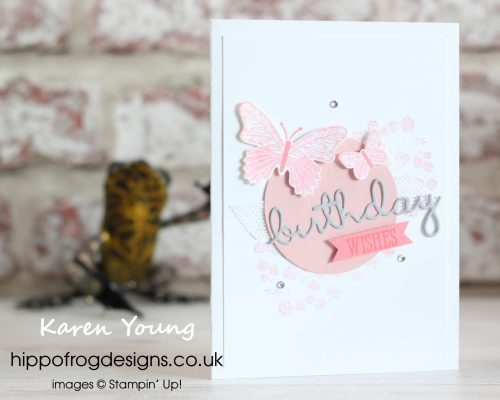 Inspired by Page 46. Card & Cuppa project designed by Karen at HIPPOFROG Designs