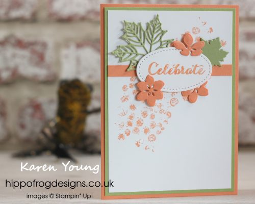 Celebrate with Seasonal Layers. Project designed by Karen at HIPPOFROG Designs