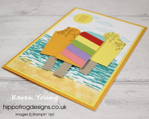 Ice Lollies. Card & Cuppa for Children project designed by Karen at HIPPOFROG Designs