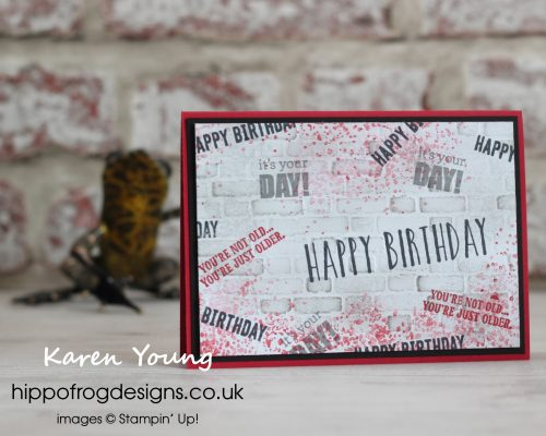 A Rocky Horror Birthday card. Designed by Karen at HIPPOFROG Designs.