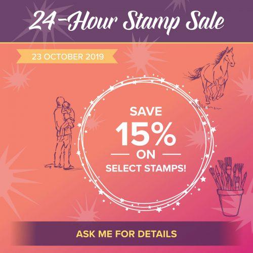 24 Hour Stamp Sale