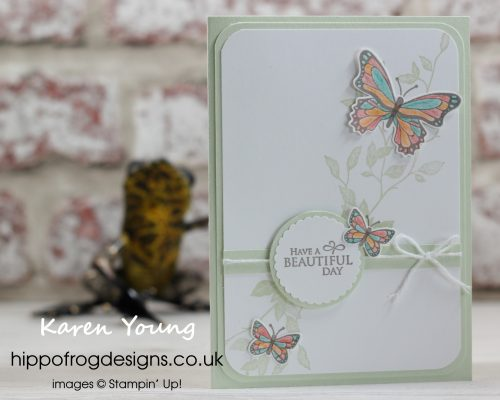 Beautiful Butterflies. Project designed by Karen at HIPPOFROG Designs