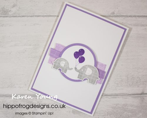 Little Elephant. Project designed by Karen at HIPPOFROG Designs