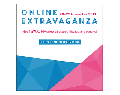 Online Extravaganza Promotion. Contact Karen at HIPPOFROG Designs for more details