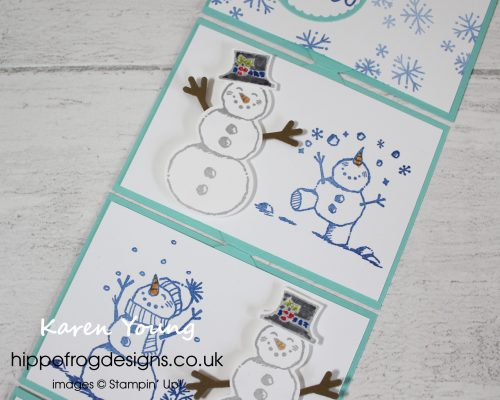 Snowman Season Bundle. Project designed by Karen at HIPPOFROG Designs