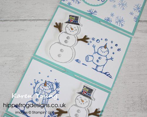 Snowman Season Bundle. Project designed by Karen at HIPPOFROG Designs