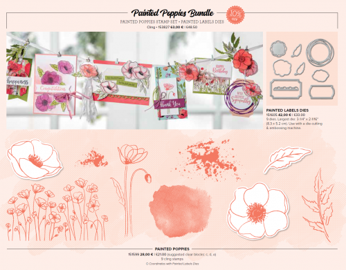 Painted Poppies Bundle