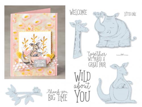 Animal Outing Stamp Set