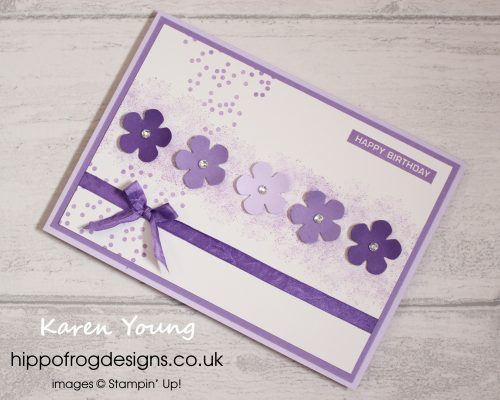 Happy New Mini Catalogue. Project Designed by Karen at HIPPOFROG Designs