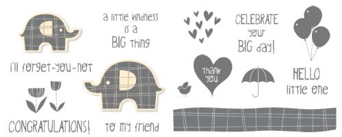 Little Elephant Stamp Set
