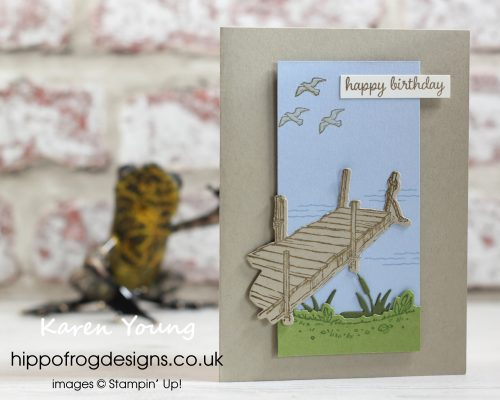 By The Dock Bundle. Project designed by Karen at HIPPOFROG Designs