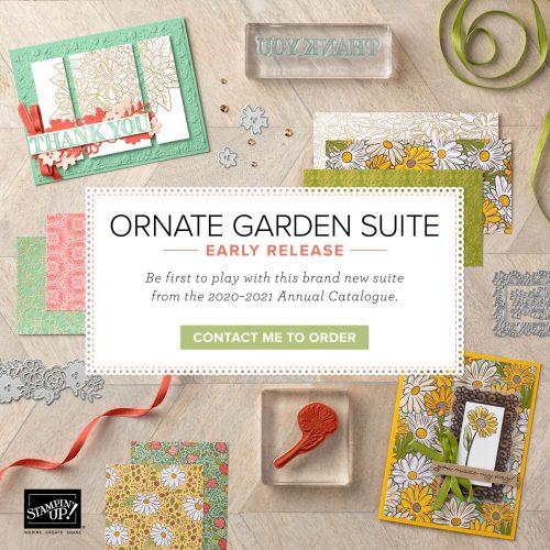 Ornate Garden Suite. Contact Karen at HIPPOFROG Designs to order