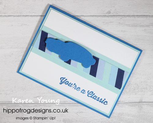 Garage Blues. Project designed by Karen at HIPPOFROG Designs