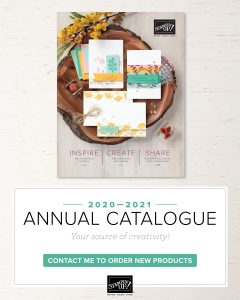 Stampin' Up! Annual Catalogue 2020. Products available from Karen Young at HIPPOFROG Designs
