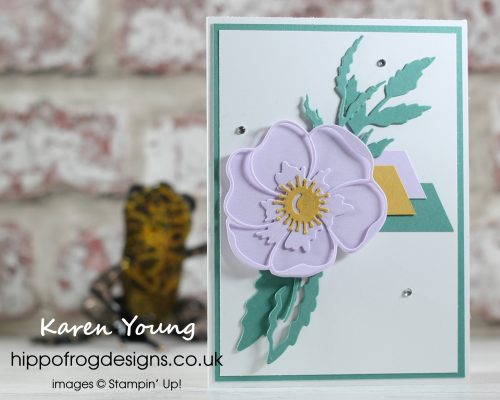 Still inspired by Wimbledon. Project designed by Karen at HIPPOFROG Designs