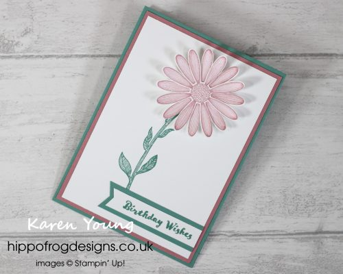 Easel Card. Handmade by Karen at HIPPOFROG Designs