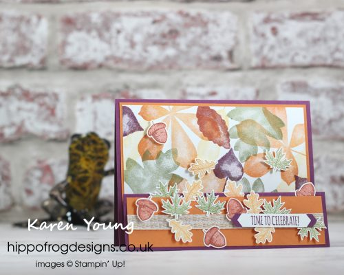 Beautiful Autumn. Project designed by Karen at HIPPOFROG Designs