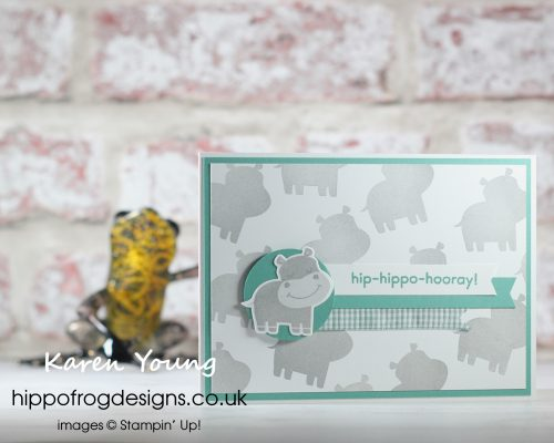 Hippo Happiness Bundle. Project designed by Karen at HIPPOFROG Designs
