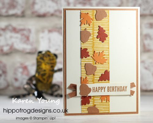 Autumn Punch Pack. Project designed by Karen at HIPPOFROG Designs