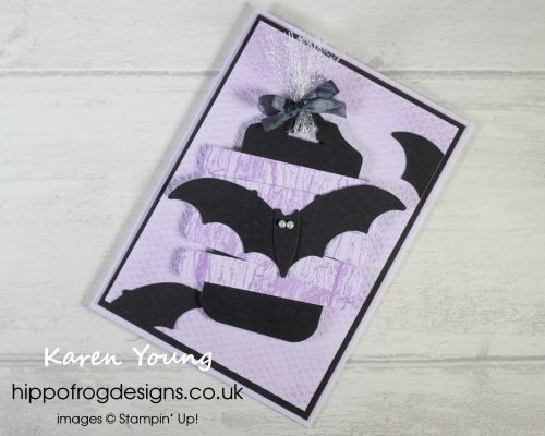 Going Batty. Project designed by Karen at HIPPOFROG Designs