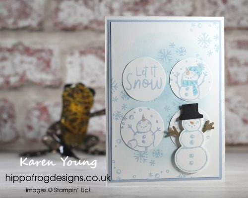 Countdown to Christmas #5. Project designed by Karen at HIPPOFROG Designs