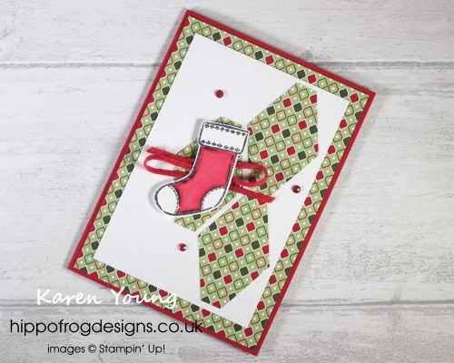Countdown to Christmas #3. Project designed by Karen at HIPPOFROG Designs