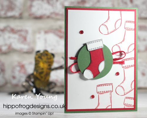 Countdown to Christmas #10. Project designed by Karen at HIPPOFROG Designs