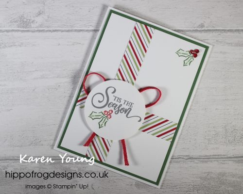 Countdown to Christmas #6. Project designed by Karen at HIPPOFROG Designs