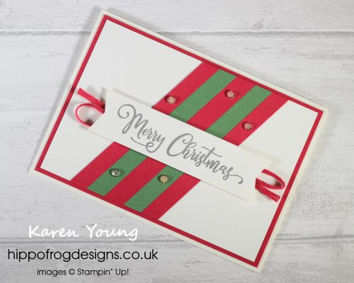 Countdown to Christmas #7. Project designed by Karen at HIPPOFROG Designs