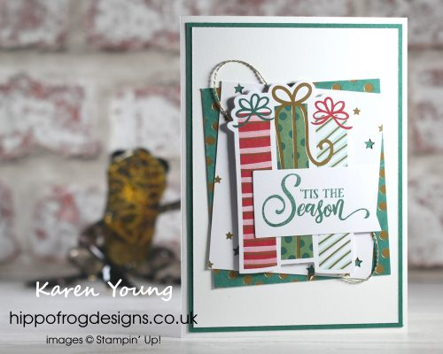 Countdown to Christmas #11. Project designed by Karen at HIPPOFROG Designs