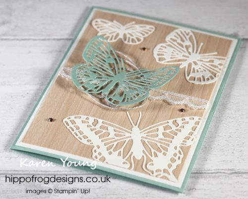 Brilliant Wings Dies. Project designed by Karen at HIPPOFROG Designs