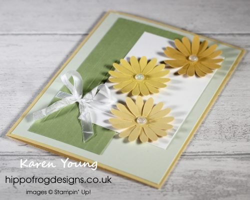 Spring Daisies. Project designed by Karen at HIPPOFROG Designs
