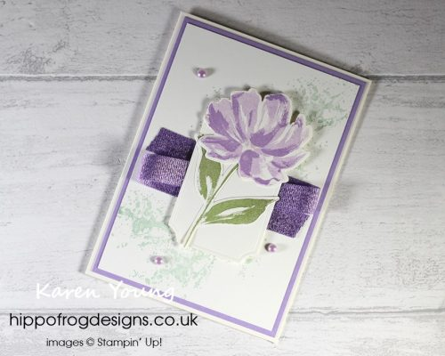 Top Tips, Tricks & Techniques: Basic White or Very Vanilla. Project designed by Karen at HIPPOFROG Designs