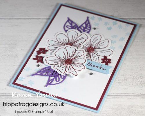 Art In Bloom Bundle. Project designed by Karen at HIPPOFROG Designs