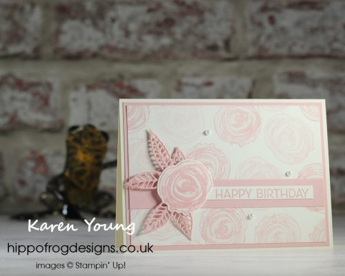 Top Tips, Tricks & Techniques: Generations of Stamping & Stamping Off. Project designed by Karen at HIPPOFROG Designs