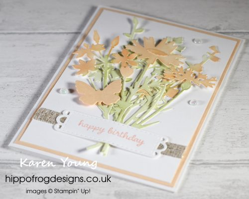 Meadow Dies Revisited. Project designed by Karen at HIPPOFROG Designs