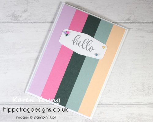 Top Tips, Tricks & Techniques: Working With Stripes