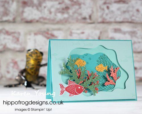 Seascape Bundle. Project designed by Karen at HIPPOFROG Designs