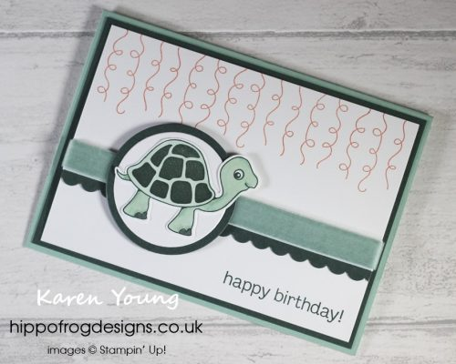 Turtle Friends. Project designed by Karen at HIPPOFROG Designs