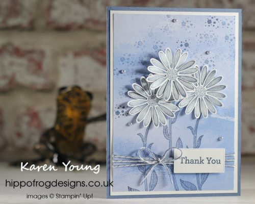 Beauty and Daisies. Project designed by Karen at HIPPOFROG Designs