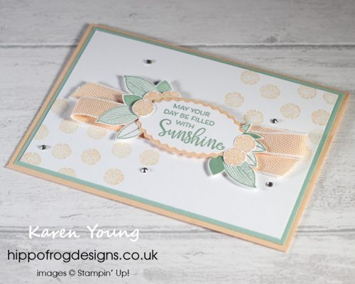 Top Tips, Tricks & Techniques: Punches/Dies #1. Project designed by Karen at HIPPOFROG Designs