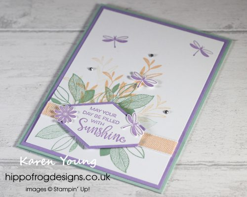 Celebrate with Flowers - Project 2. Project designed by Karen at HIPPOFROG Designs