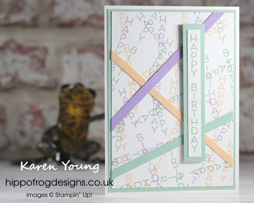Celebrate with Flowers - Project 4. Project designed by Karen at HIPPOFROG Designs