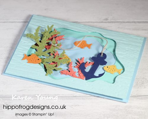 Sea Life Dies. Project designed by Karen at HIPPOFROG Designs